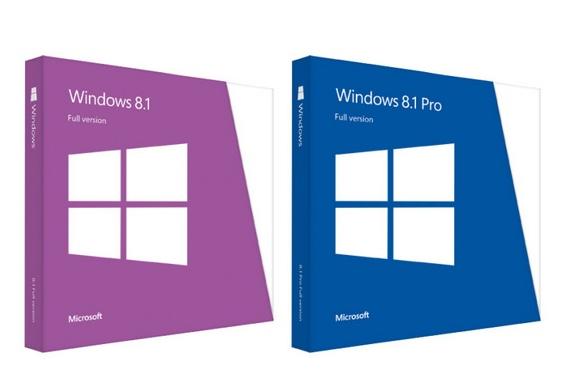 windows 8.1 boxed copies