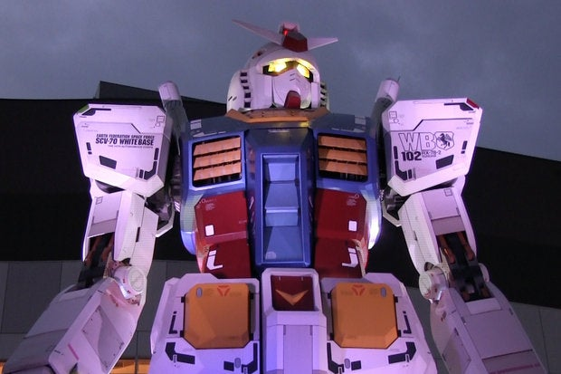 Can 'Gundam' fans build a