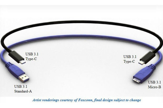 Reversible USB Type-C wonder