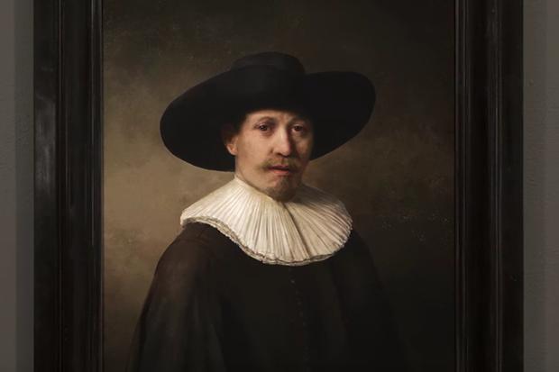 A.I. just 3D-printed a brand-new Rembrandt, and it's shockingly good